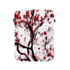 Tree Art Artistic Abstract Background Apple Ipad 2/3/4 Protective Soft Cases