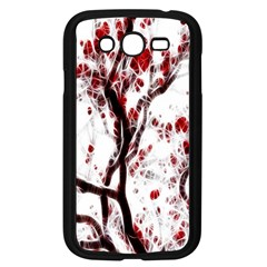Tree Art Artistic Abstract Background Samsung Galaxy Grand DUOS I9082 Case (Black)