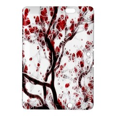 Tree Art Artistic Abstract Background Kindle Fire Hdx 8 9  Hardshell Case