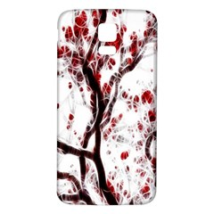 Tree Art Artistic Abstract Background Samsung Galaxy S5 Back Case (white)