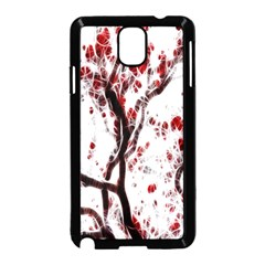 Tree Art Artistic Abstract Background Samsung Galaxy Note 3 Neo Hardshell Case (Black)