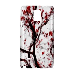 Tree Art Artistic Abstract Background Samsung Galaxy Note 4 Hardshell Case