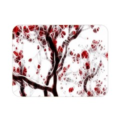 Tree Art Artistic Abstract Background Double Sided Flano Blanket (mini)