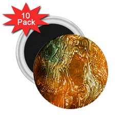 Light Effect Abstract Background Wallpaper 2.25  Magnets (10 pack)