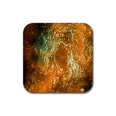 Light Effect Abstract Background Wallpaper Rubber Coaster (Square)