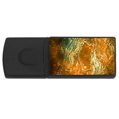 Light Effect Abstract Background Wallpaper USB Flash Drive Rectangular (2 GB)