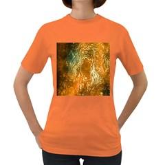 Light Effect Abstract Background Wallpaper Women s Dark T Shirt