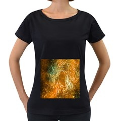 Light Effect Abstract Background Wallpaper Women s Loose Fit T Shirt (black)