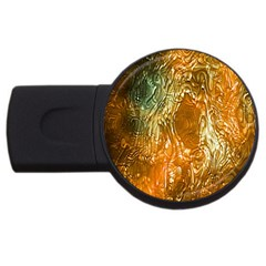 Light Effect Abstract Background Wallpaper USB Flash Drive Round (4 GB)