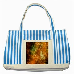 Light Effect Abstract Background Wallpaper Striped Blue Tote Bag