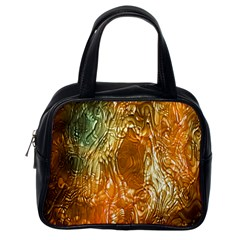 Light Effect Abstract Background Wallpaper Classic Handbags (one Side)