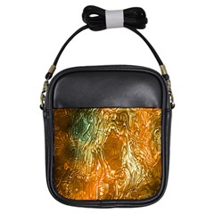 Light Effect Abstract Background Wallpaper Girls Sling Bags