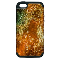 Light Effect Abstract Background Wallpaper Apple Iphone 5 Hardshell Case (pc+silicone)