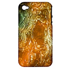 Light Effect Abstract Background Wallpaper Apple Iphone 4/4s Hardshell Case (pc+silicone)