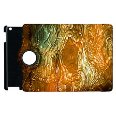 Light Effect Abstract Background Wallpaper Apple iPad 3/4 Flip 360 Case