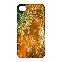 Light Effect Abstract Background Wallpaper Apple Iphone 4/4s Hardshell Case With Stand