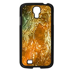 Light Effect Abstract Background Wallpaper Samsung Galaxy S4 I9500/ I9505 Case (Black)