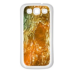 Light Effect Abstract Background Wallpaper Samsung Galaxy S3 Back Case (white)