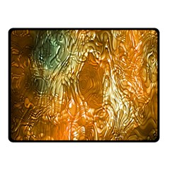 Light Effect Abstract Background Wallpaper Double Sided Fleece Blanket (Small)