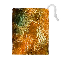 Light Effect Abstract Background Wallpaper Drawstring Pouches (extra Large)
