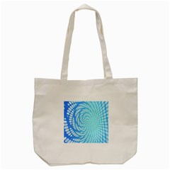 Abstract Pattern Neon Glow Background Tote Bag (Cream)