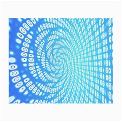 Abstract Pattern Neon Glow Background Small Glasses Cloth (2 Side)
