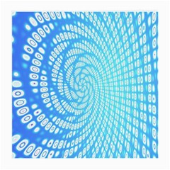 Abstract Pattern Neon Glow Background Medium Glasses Cloth (2-Side)