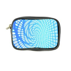 Abstract Pattern Neon Glow Background Coin Purse