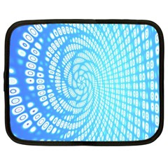 Abstract Pattern Neon Glow Background Netbook Case (xl)