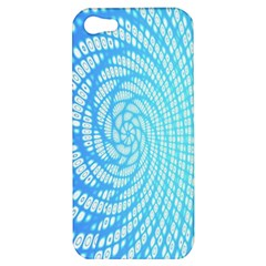 Abstract Pattern Neon Glow Background Apple Iphone 5 Hardshell Case