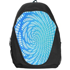 Abstract Pattern Neon Glow Background Backpack Bag