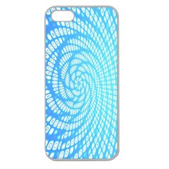 Abstract Pattern Neon Glow Background Apple Seamless Iphone 5 Case (clear)