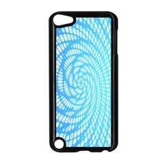Abstract Pattern Neon Glow Background Apple iPod Touch 5 Case (Black)