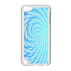 Abstract Pattern Neon Glow Background Apple Ipod Touch 5 Case (white)