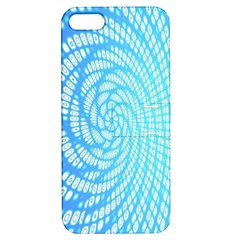 Abstract Pattern Neon Glow Background Apple iPhone 5 Hardshell Case with Stand