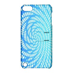 Abstract Pattern Neon Glow Background Apple iPod Touch 5 Hardshell Case with Stand