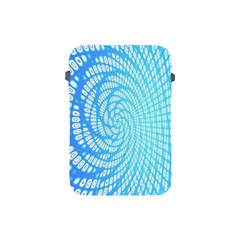 Abstract Pattern Neon Glow Background Apple iPad Mini Protective Soft Cases
