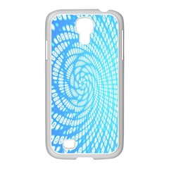 Abstract Pattern Neon Glow Background Samsung GALAXY S4 I9500/ I9505 Case (White)