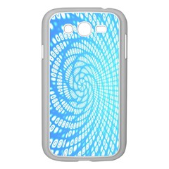 Abstract Pattern Neon Glow Background Samsung Galaxy Grand DUOS I9082 Case (White)