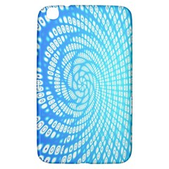 Abstract Pattern Neon Glow Background Samsung Galaxy Tab 3 (8 ) T3100 Hardshell Case
