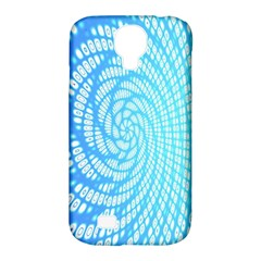 Abstract Pattern Neon Glow Background Samsung Galaxy S4 Classic Hardshell Case (pc+silicone)