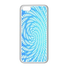 Abstract Pattern Neon Glow Background Apple iPhone 5C Seamless Case (White)