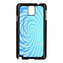 Abstract Pattern Neon Glow Background Samsung Galaxy Note 3 N9005 Case (Black)