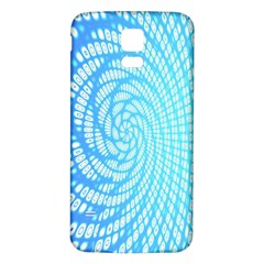 Abstract Pattern Neon Glow Background Samsung Galaxy S5 Back Case (white)