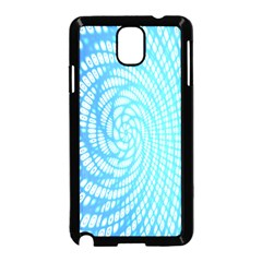 Abstract Pattern Neon Glow Background Samsung Galaxy Note 3 Neo Hardshell Case (Black)