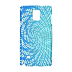 Abstract Pattern Neon Glow Background Samsung Galaxy Note 4 Hardshell Case