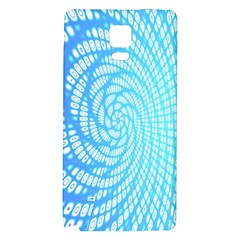 Abstract Pattern Neon Glow Background Galaxy Note 4 Back Case