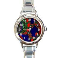 Recurring Circles In Shape Of Amphitheatre Round Italian Charm Watch