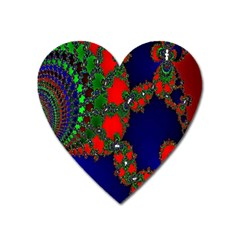 Recurring Circles In Shape Of Amphitheatre Heart Magnet