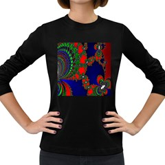 Recurring Circles In Shape Of Amphitheatre Women s Long Sleeve Dark T-Shirts